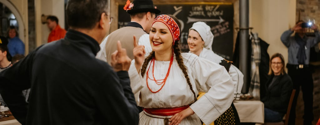 Traditional 2-hour Slovenian dinner and show