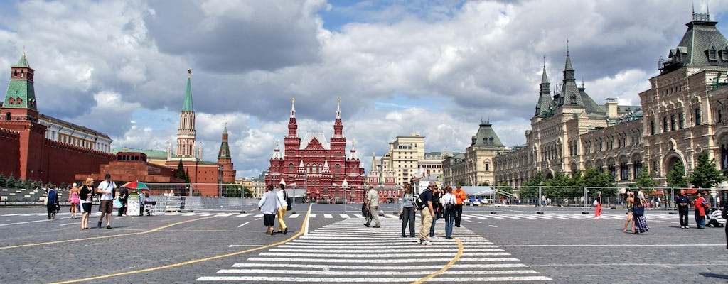 St Basil's Cathedral, Red Square and Moscow Kremlin tour with skip-the-line tickets