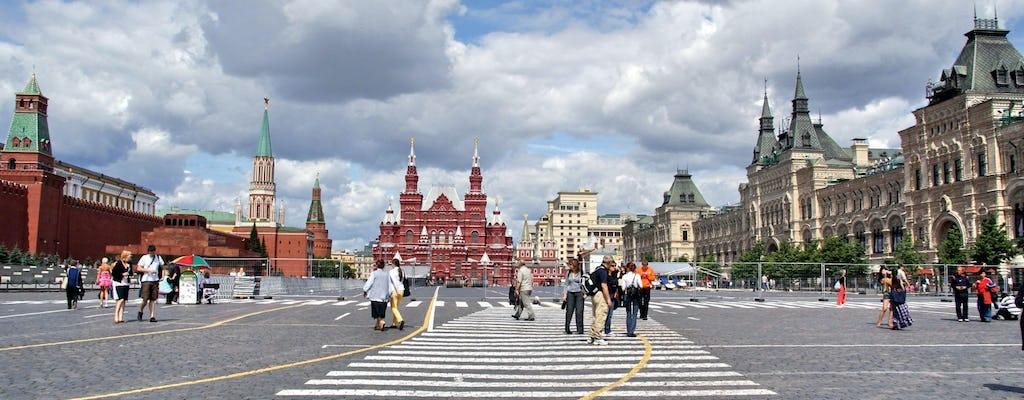 Excursão à Catedral de São Basílio, Praça Vermelha e Kremlin de Moscou com ingressos sem fila
