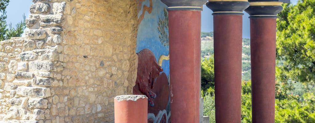 Knossos & Heraklion vanaf Rethymnon