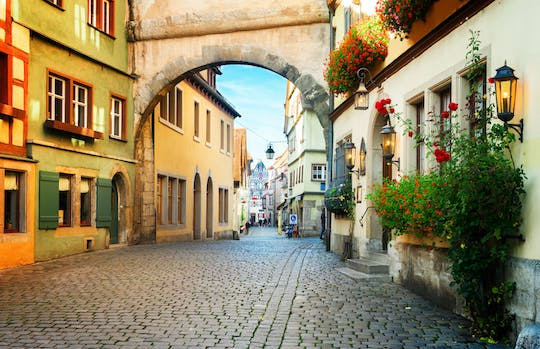 Rothenburg day trip from Frankfurt
