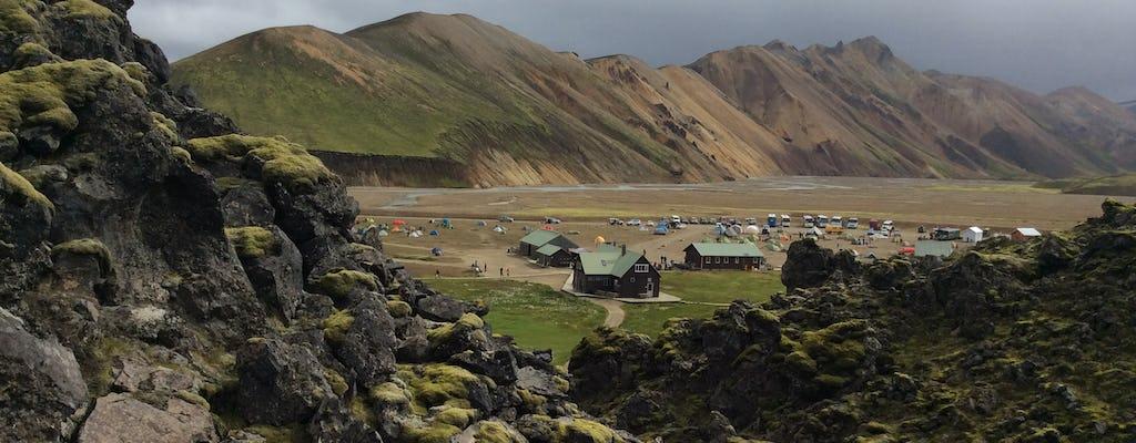 Take the daily Highland Bus from Reykjavík to Landmannalaugar