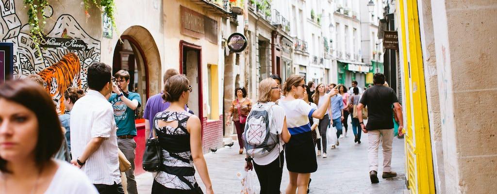 Paseo del barrio latino de París