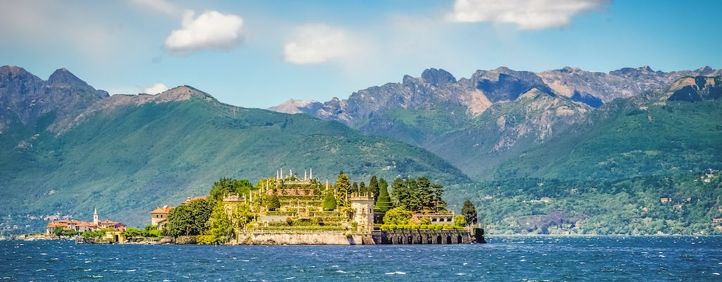 Navigation service from Stresa to Isola Madre, Isola Pescatori and Isola Bella