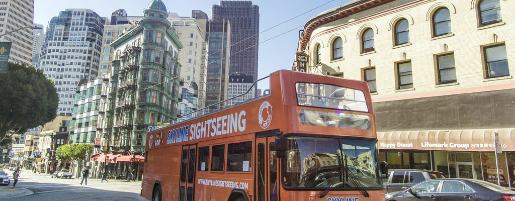 Tour de 1 día por la ciudad de San Francisco con paradas libres MÁS
