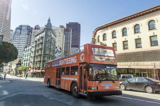 San Francisco 1-day hop-on, hop-off city tour PLUS