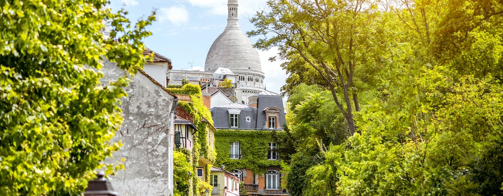 Guided tour of Montmartre neighborhood