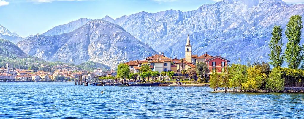 Navigationsdienst von Stresa nach Isola Pescatori und Isola Bella