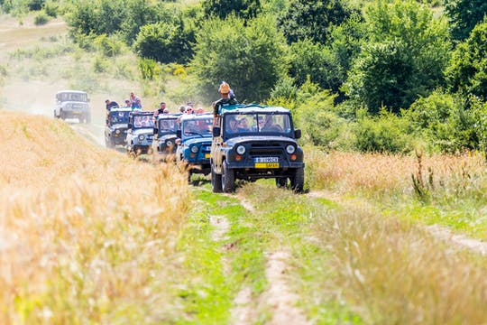 Balkan Mountains Off-Road Tour from Obzor