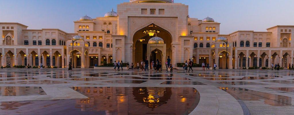 Tour privado de dia inteiro em Abu Dhabi e Qasr al Watan