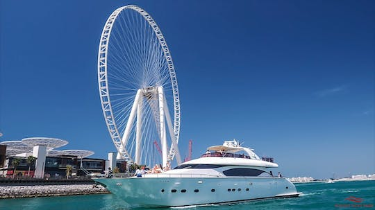 Dubai Marina luxury cruise with BBQ lunch or dinner