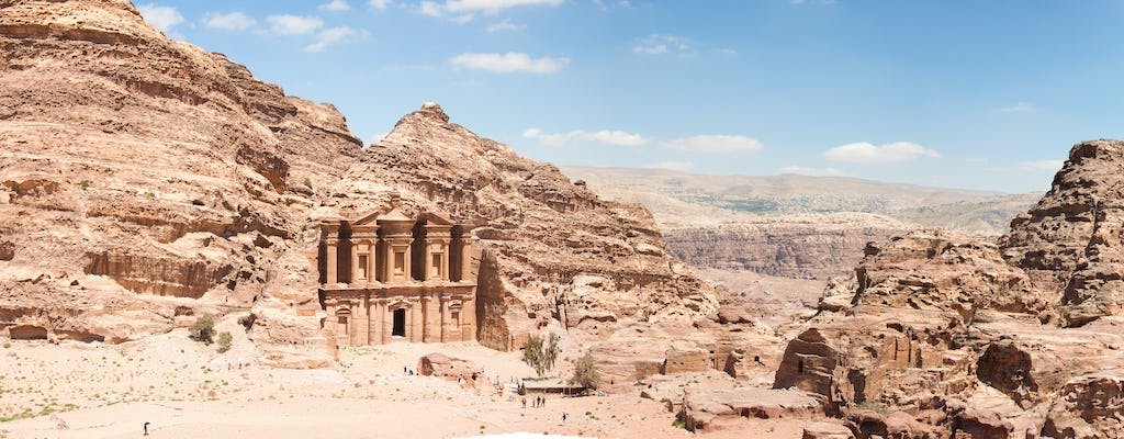 One-day Petra tour from Tel Aviv and Jerusalem