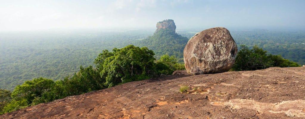 Sigiriya and Pidurangala Rock From Negombo