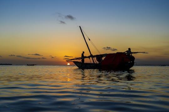 Sansibar Sonnenuntergang Dhow Kreuzfahrt