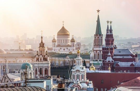 Christ the Savior Cathedral e Old Arbat tour della città di Mosca