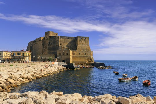 Guided tour of Naples origins with Castel dell'Ovo visit