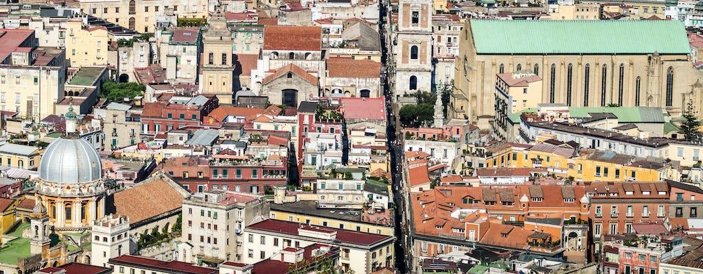 Walking tour of Naples historic center