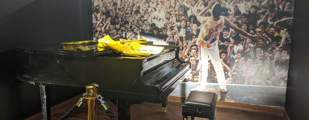 Eintrittskarte für das Freddie Mercury Museum Zanzibar