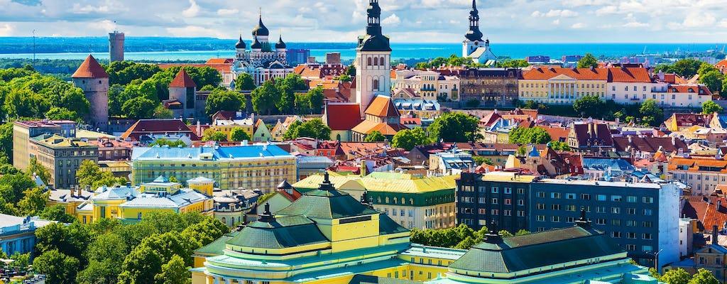 Tour privado de 3 horas por Tallin con transporte