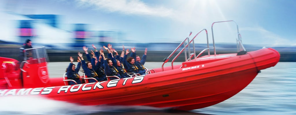 Thames Rockets Break the Barrier speedboat ride