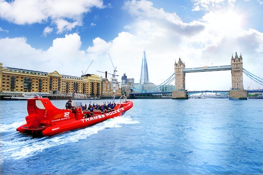 Thames Rockets Ultimate London Speedboat Experience