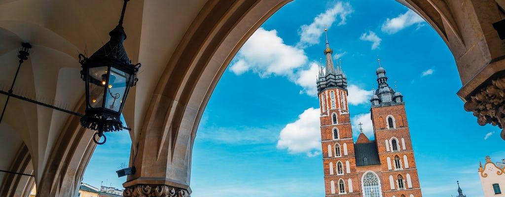 Tour privato a piedi di Cracovia, incluso Kazimierz
