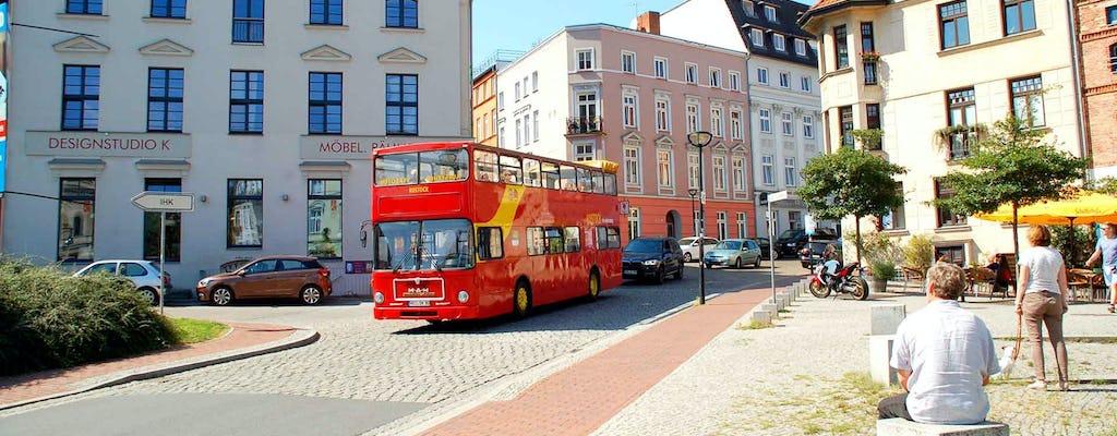 Stadtrundfahrten in Rostock mit Doppeldecker-Cabriobus