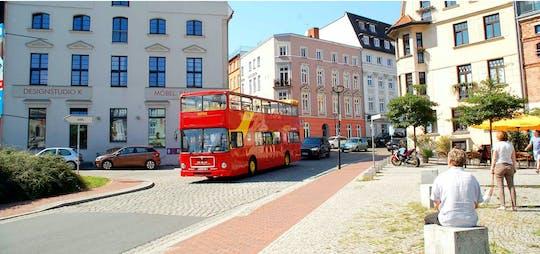 Rostock city tour by double-decker bus