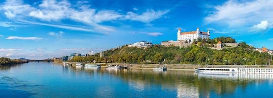 Privé begeleide wandeling van een halve dag in Bratislava