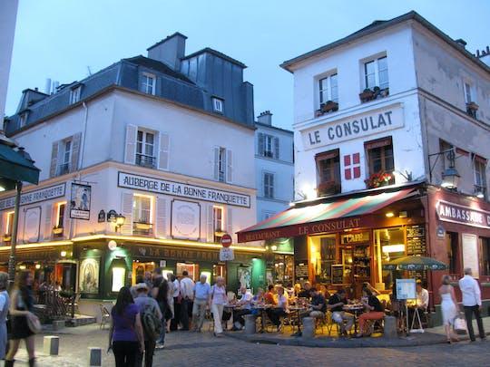 Пешеходная экскурсия по Монмартру ночью с шампанским