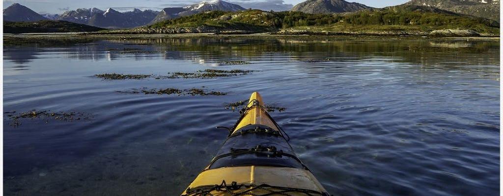 Ir en kayak en el mar