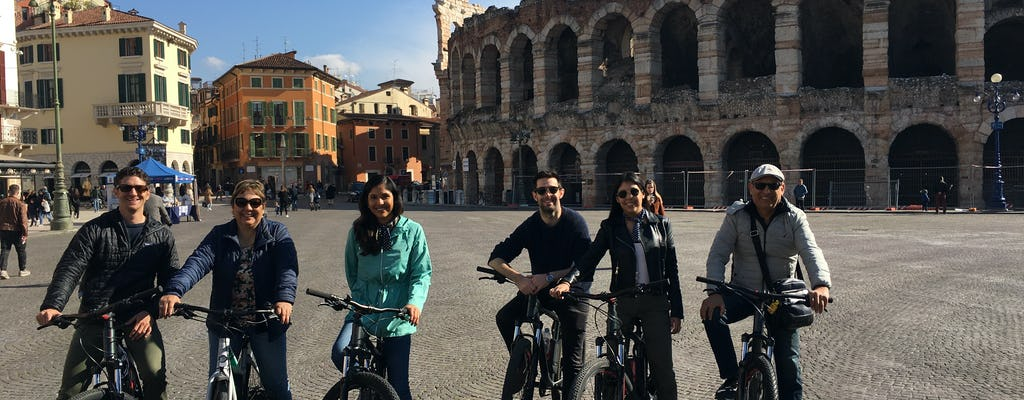 Tour panoramico di Verona in e-bike