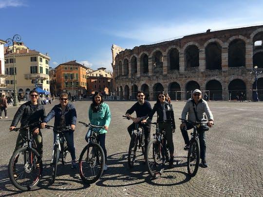 Descripción panorámica y recorrido en bicicleta eléctrica de Verona