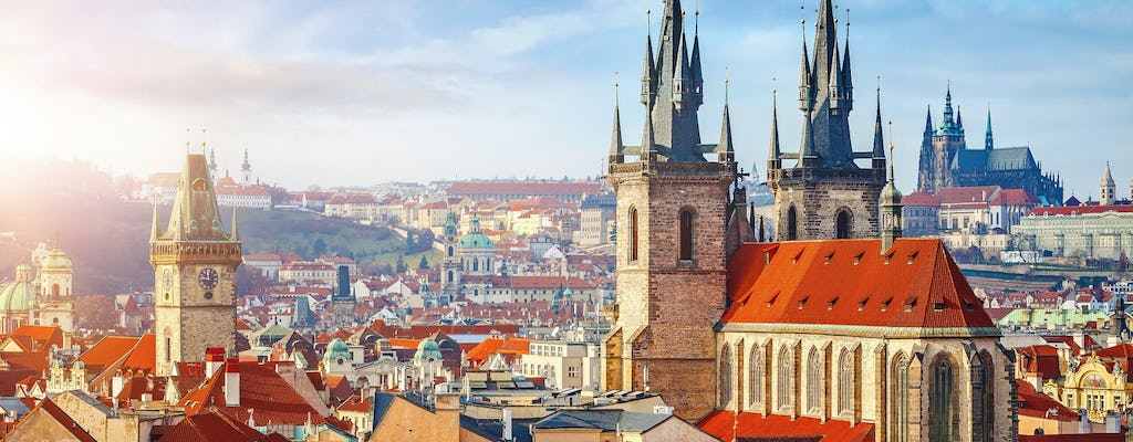Prague highlights private half-day walking tour