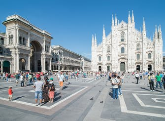 Milan walking tour in Russian language