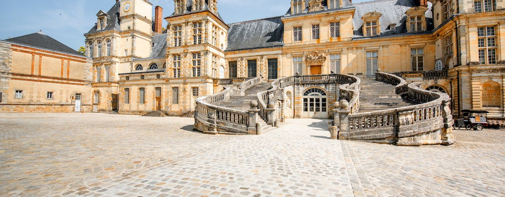 Full-day private trip to the Château de Fontainebleau