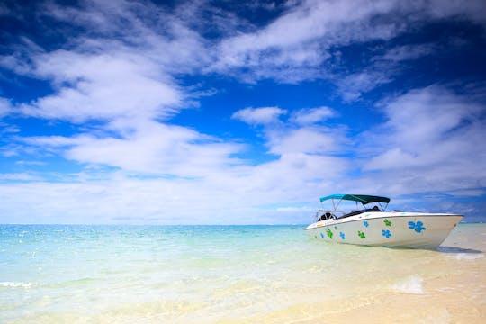 Tour privato in motoscafo delle cinque isole Mauritius