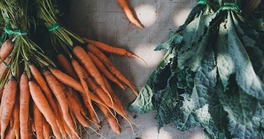 Tour de comida del mercado de agricultores del lago de Como