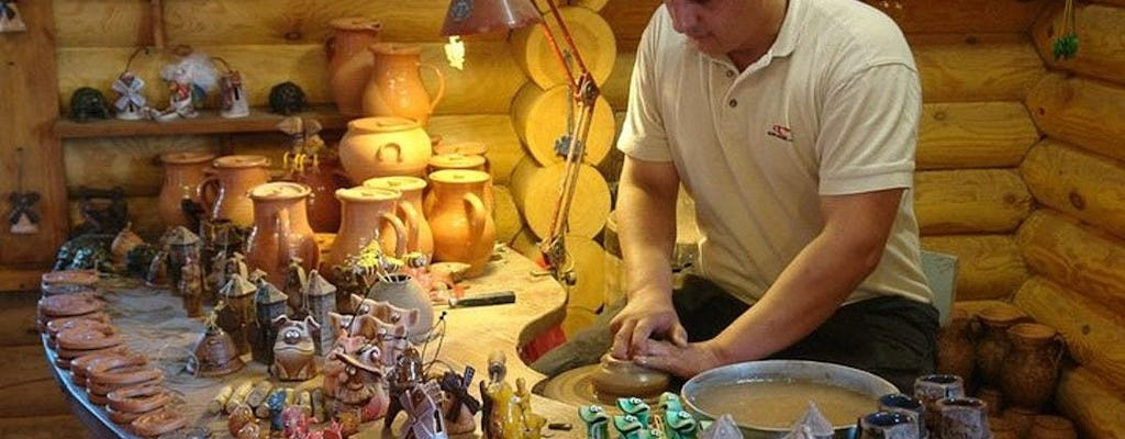 Shared tour to the Dudutki folk crafts museum from Minsk