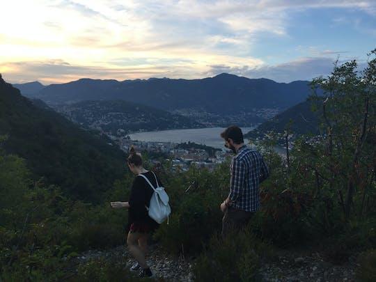 Lake Como evening experience in a baita
