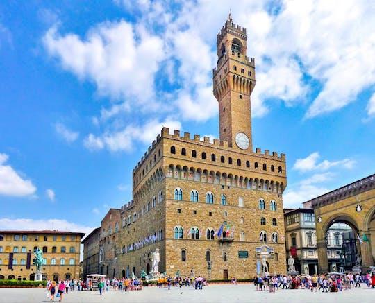 Visita guiada semiprivada ao Palazzo Vecchio