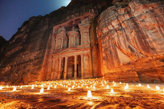 Petra 1-day group tour from Aqaba