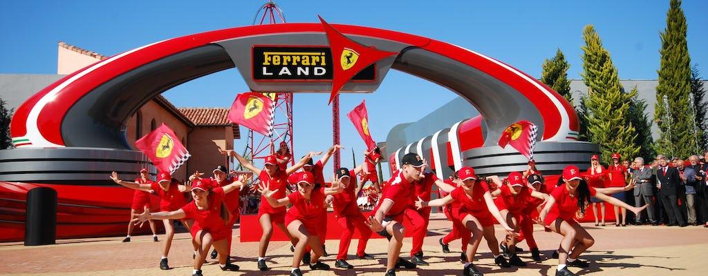 Billet 1 jour Ferrari Land