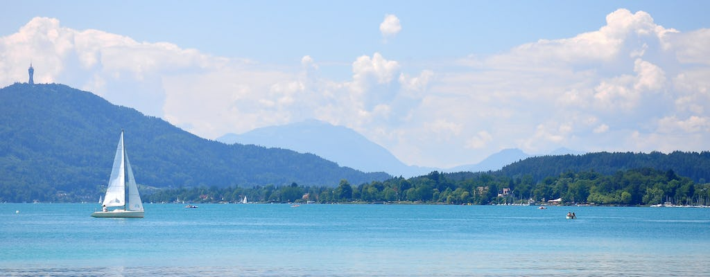 Sailing introductory course on lake Wörthersee