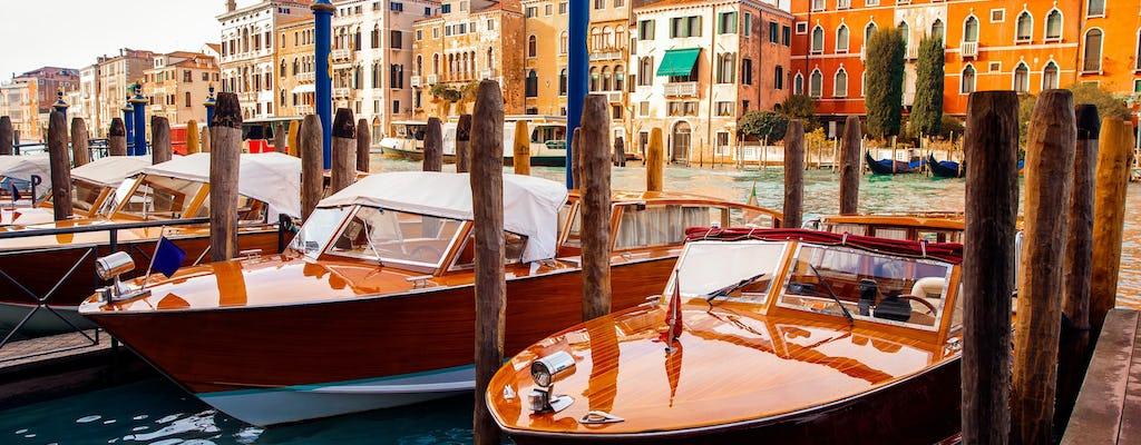 Wycieczka łodzią po Canal Grande i tajne rogi