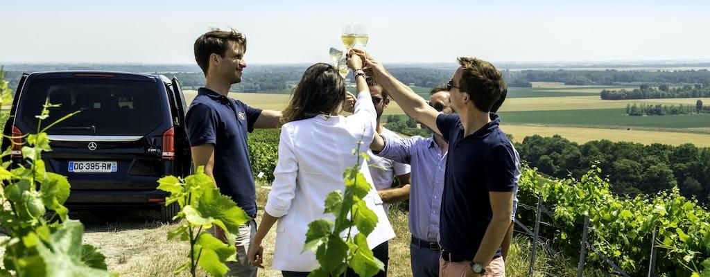 Champagnetrip naar Veuve Cliquot inclusief familiewijnmakerij en lunch vanuit Reims