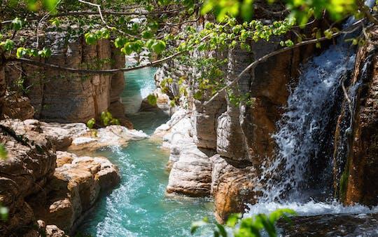 Martvili Canyon en Hanged Bridges of Okatse from Kutaisi