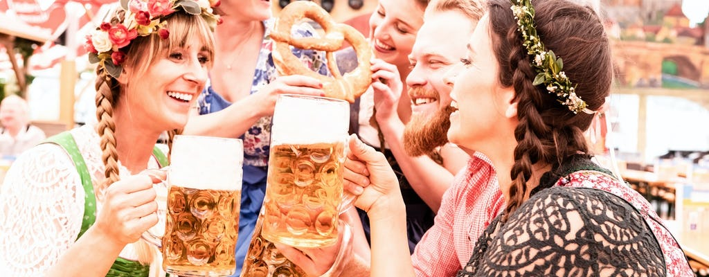 Oktoberfest tour with table