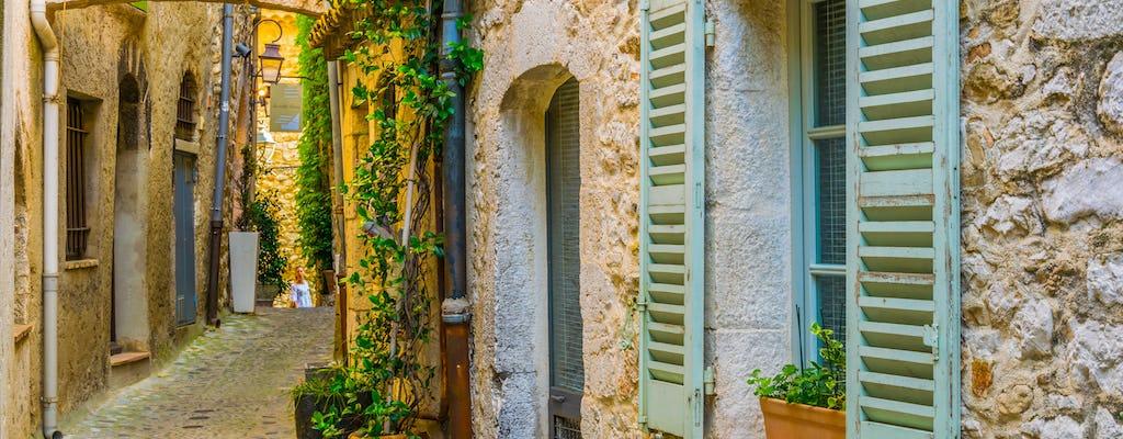 Halbtägige Gruppenreise auf dem Land der Provence ab Nizza