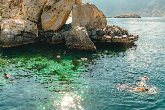 Plongée en apnée dans les îles Daymaniyat au départ de Mascate